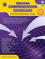 Targeting Comprehension Strategies for the Common Core Grade 5 (Enhanced eBook)
