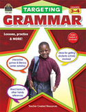Targeting Grammar: Grades 3-4 (Enhanced eBook)
