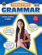 Targeting Grammar: Grades 4-5 (Enhanced eBook)