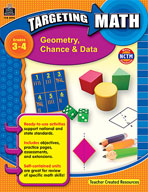 Targeting Math: Geometry, Chance and Data (Enhanced eBook)