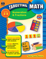 Targeting Math: Numeration and Fractions (Enhanced eBook)