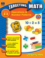 Targeting Math: Operations and Number Patterns (Enhanced eBook)