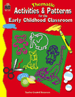 Thematic Activities and Patterns for the Early Childhood Classroom (Enhanced eBook)