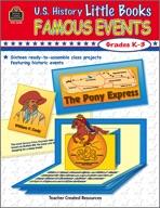 U.S. History Little Books: Famous Events