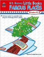 U.S. History Little Books: Famous Places