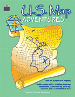 U.S. Map Adventures (Enhanced eBook)