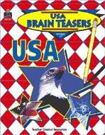 USA Brain Teasers (Enhanced eBook)