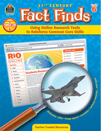 Using Online Research Tools to Reinforce Common Core Skills: Grade 6 (Enhanced eBook)