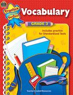 Vocabulary: Grade 3 (Enhanced eBook)