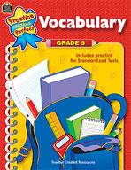 Vocabulary: Grade 5 (Enhanced eBook)