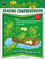 Word Family Stories for Reading Comprehension: Grades 1-2 (Enhanced eBook)