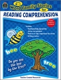 Word Family Stories for Reading Comprehension: Grades K-1 (Enhanced eBook)