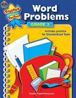 Word Problems: Grade 3 (Enhanced eBook)