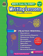 Write from the Start! Writing Lessons: Grade 4 (Enhanced eBook)