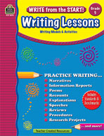 Write from the Start! Writing Lessons: Grade 5 (Enhanced eBook)