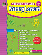 Write from the Start! Writing Lessons Grd 3