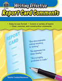 Writing Effective Report Card Comments (Enhanced eBook)