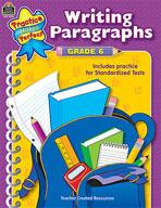 Writing Paragraphs Grade 6