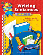 Writing Sentences: Grade 2 (Enhanced eBook)