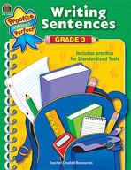 Writing Sentences: Grade 3 (Enhanced eBook)