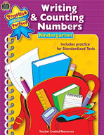 Writing and Counting Numbers: Grade K (Enhanced eBook)