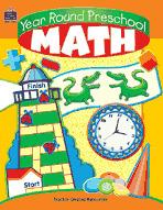 Year Round Preschool Math (Enhanced eBook)