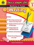 Daily Warm-Ups: Nonfiction and Fiction Writing: Grade 1 (Enhanced eBook)