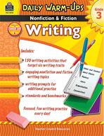 Daily Warm-Ups: Nonfiction and Fiction Writing Grade 3 (Enhanced eBook)