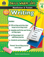 Daily Warm-Ups: Nonfiction and Fiction Writing Grade 4