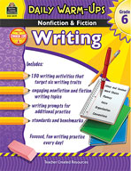 Daily Warm-Ups: Nonfiction and Fiction Writing Grade 6