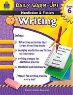 Daily Warm-Ups: Nonfiction and Fiction Writing Grade 6 (Enhanced eBook)