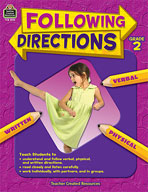Following Directions: Grade 2 (Enhanced eBook)