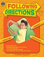 Following Directions: Grade 3 (Enhanced eBook)