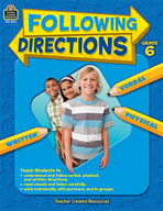 Following Directions: Grade 6 (Enhanced eBook)