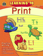 Learning to Print: Grades K-2