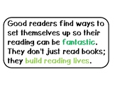 Lucy Calkins 3rd Grade Reading Unit 1 Building a Reading Life Teaching Points