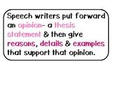 TCRWP 3rd Grade Writing Unit 2 Changing the World Teaching Points