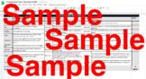 TCRWP Digitalized 1st Grade Writing Rubrics