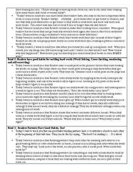 TCRWP Readers Build Good Habits - Reading MAP