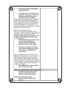 TCRWP nonfiction writing - Lesson 7