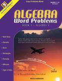 Algebra Word Problems Book 1