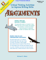 Critical Thinking to Improve Writing: Arguments