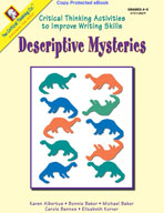 Critical Thinking to Improve Writing: Descriptive Mysteries