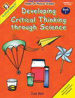 Developing Critical Thinking through Science Book 1