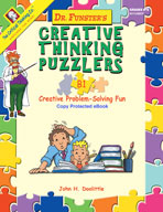 Dr. Funster's Creative Thinking Puzzlers B1
