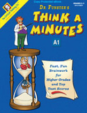 Dr. Funster's Think-A-Minutes A1