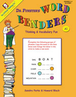 Dr. Funster's Word Benders A1