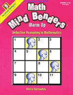 Math Mind Benders Warm Up