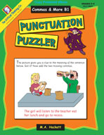 Punctuation Puzzler: Commas and More B1
