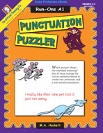 Punctuation Puzzler: Run-Ons A1